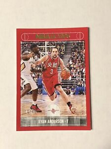 2017-18 Ryan Anderson Panini NbaHoops Red #12/49