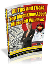 50 TIPS AND TRICKS YOU MUST KNOW ABOUT MICROSOFT WIDOWS PDF EBOOK FREE SHIPPING
