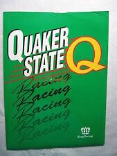 Quaker State Racing Steve Kinser Kenny Berstein 1995 NASCAR press kit