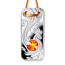1$ 2017 Niue - Jewelry Collection - Jahr des Hahns Pendant / Year of Rooster