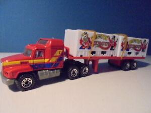 MATCHBOX  MACK ARTIC, CIRCUS TRUCK, convoy/CY-28, c1990,    mib