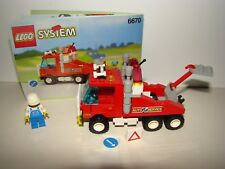 LEGO SYSTEM 6670 Rescue Rig  TOWN TRUCK COMPLET + INSTRUCTION 1993