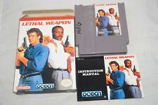 Lethal Weapon (Nintendo NES) Complete in Box GOOD