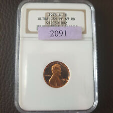 1973 S LINCOLN MEMORIAL CENT PENNY COIN NGC PR69 ULTRA CAMEO GEM PROOF