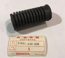 Gomma Pedana - Rubber, footpeg - Honda CX500 NOS: 50661-426-000