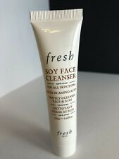FRESH Soy Face Cleanser Rich in Amino Acids Sample Size 0.6oz New