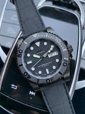 Yachtmaster Divers Watch Negro Noche Pedales SEIKO NH36 De hombre del zafiro automático