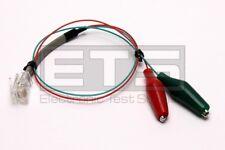 JDSU RJ11 Plug To Alligator Clips 1ft Cable Assembly Ideal K-8343 RJ-11 RJ 11