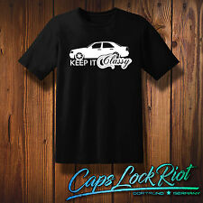 T-shirt w202 MERCEDES BENZ Keep it Classy illustration AMG old school Caps Lock riot