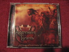 VA Aggressive Tyrants Irish Metal CD Primordial Cursed Earth Predator Asphyxia