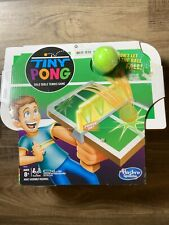 Tiny Pong Solo Table Tennis Kids Electronic Handheld Game by Hasbro ping pong