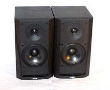 B&W DM 302 * Kult Stereo HiFi Lautsprecher Speaker * Black * 11285