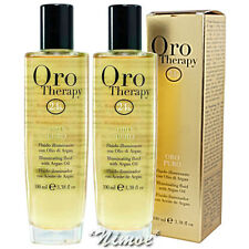 Illuminating Fluid Oro Puro Therapy 24k ® 100ml x 2 Micro-active Gold Argan Oil