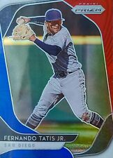 """2020 Panini Prizm Baseball """"Red, White & Blue"""" Prizms You Pick Your Card"""