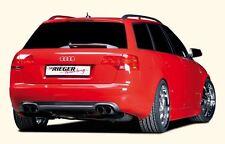 Rieger Heckeinsatz im Carbon-Look für Audi A4 B7 Limousine/ Avant
