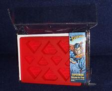 DC Comics  SUPERMAN LOGO Silicone Ice Cube Tray Kotobukiya
