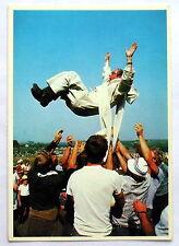 Carte postale Pologne 1981,pretre,Bruno Barbey     postcard