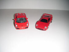 Kinsmart Lamborghini Gallardo Diecast & Ferrari F40 Toy Car