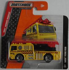MATCHBOX-MBX Fire Rig/Fire Engine GIALLO/US POMPIERI Nuovo/Scatola Originale