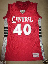 Central High School Bobcats CHS Basketball Game Worn Jersey LG
