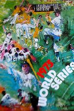 LeRoy Neiman Poster-Baseball Art to Advertise the 1975 World Series 16X11