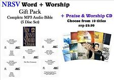 NRSV Word+Worship Pack (5 CDs) - NRSV MP3 Audio Bible +CD: Only £6.99!! WOW!!