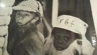 "Buckwheat and Alfalfa Detectives 12"" x 12"" Photo Little Rascals B/W TV poster"