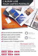 ALBUM CLASSEUR LUXE Vert Vide pour Cartes Postales anciennes ou modernes