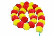 Indian Plastic Flower Garland Artificial Party Garland Wedding Decor 15 PC LOT