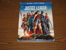 New listing Justice League (Blu-ray/Dvd, 2018, 2-Disc Set, Includes Digital Copy) Slip Cover