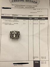 Chrome Hearts Cemetery Ring Authentic Size 8.5