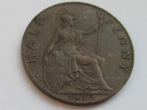 George V Half-penny 1923 - Good collectable coin