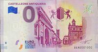 BILLET 0  EURO CASTELLEONE ANTIQUARIA  ITALIE 2018  NUMERO 1000
