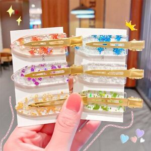 Washing Face Side Bangs Seamless Hair Clips Styling Hairpins Barrette No Bend
