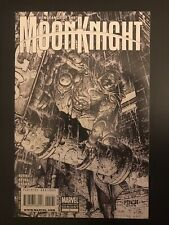 Vengeance of Moon Knight #1 Sketch Variant 2009 Marvel Comic Book