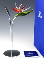 Swarovski Crystal Figurine #673420 PARADISE FLOWERS DALMALLY in Box