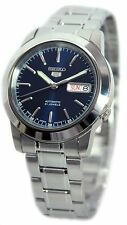 Seiko 5 Blue Dial Automatic Stainless Steel Men's Watch SNKE51J1