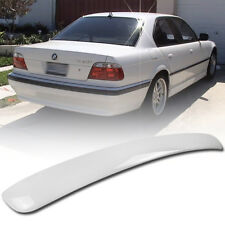 Stock in LA!Paint White For BMW E38 7 series A Type Roof Spoiler Rear Wing #300