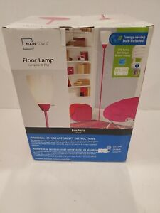 Mainstays Floor Lamp Fuchia Hot Pink