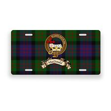 MacDonald Scottish Clan Novelty Auto Plate Tag Family Name License Plate