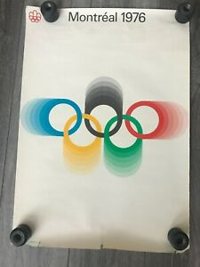 Vintage 1976 Montreal Summer Olympics Posters - Set of 4
