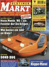 Markt 3/98 1998 Bond Bug Daewoo Nexia Citroën DS Taunus P6 VW 411 Honda CBX moto