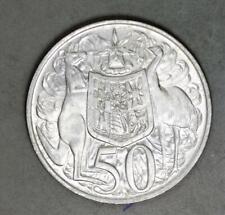 Australia 1966 50 Cents Silver Coin