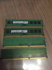 8gb de ram samsung  DDR3 / PC3 4X2Gb   1333Mhz PC 10600U  testées