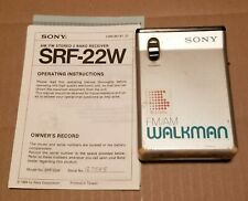 Sony AM/FM Walkman - SRF-22W - Vintage