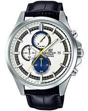 Casio Edifice Chronograph Leather Strap Men's Watch EFV-520L-7A