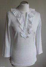Hüftlange Damenblusen, - tops & -shirts mit Rüschen-Blusen Ralph Lauren