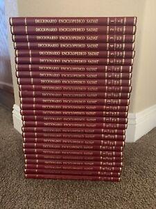 Enciclopedia Salvat Diccionario 26 Tomos Spanish Dictionary Encyclopedia Volume