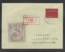 1945 HOLLAND rocket mail cover - EZ 31C1
