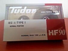 Cassette Tape Blank - 1 X Tudor HF 90 (Type I) Rare
